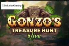 Gonzo's Quest hyppäämässä live-kasinolle